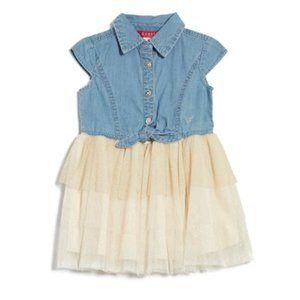 Guess Little Girls Denim Dress